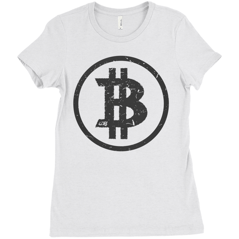 Basic Bitcoin Triblend Shirt - Women's Edition - URBitcoinwear Bitcoin Fashion Store
