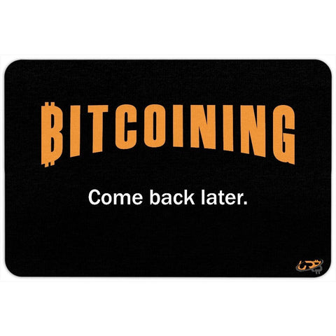 Bitcoining Floormat - URBitcoinwear Bitcoin Fashion Store