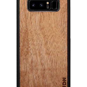 Slim Wooden Samsung Galaxy Case Black Note 8 / Mahogany Product