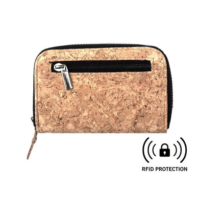 Cork Card Holder Wallet - Athena Women - Accessories - Wallets & Small Goods