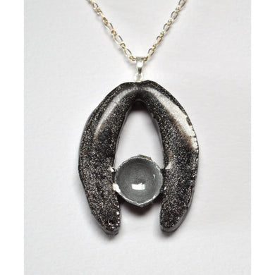 Palm And Eucalyptus Necklace / Silver Women - Jewelry - Necklaces