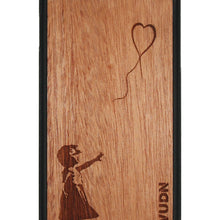 Slim Wooden Phone Case | Banksy Girl With A Balloon Iphone 7 / 8 Plus Product