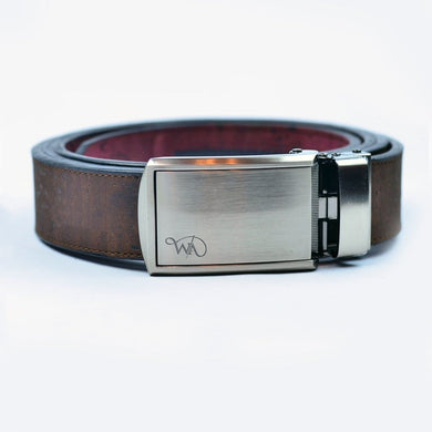 Unisex Cork Belt | Brown/wine Men - Accessories - Belts