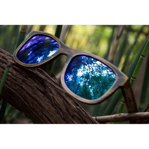 Driftwood Ice - Bamboo Sunglasses Men - Accessories - Sunglasses