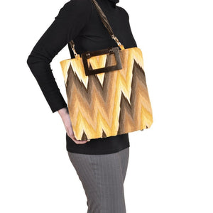 Flame Gold Small Tote Women - Bags - Totes