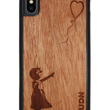 Slim Wooden Phone Case | Banksy Girl With A Balloon Iphone X Product