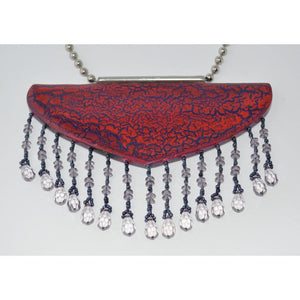 Beaded Breastplate Necklace Women - Jewelry - Necklaces
