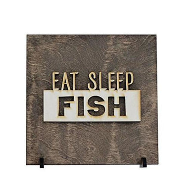 Eat Sleep Fish - Fishing Decor - Gift For Dad
