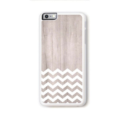 Zig Zag White On Light Wood For Iphone 6 Plus Home - Electronics