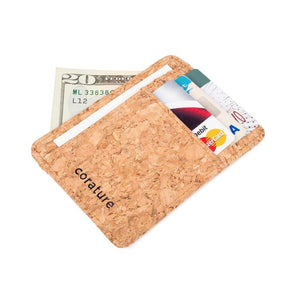 Cork Minimalist Wallet Men - Accessories - Wallets & Small Goods