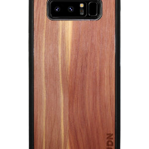 Slim Wooden Samsung Galaxy Case Black Note 8 / Aromatic Cedar Product
