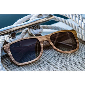 Seafarer - Tea - Wood Sunglasses Men - Accessories - Sunglasses
