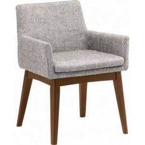 Dining Armchair - Chanel - Cocoa & Pebble | Gfurn Home - Furniture