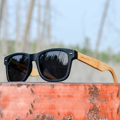 Retrofly Bamboo Polarized Sunglasses Men - Accessories -