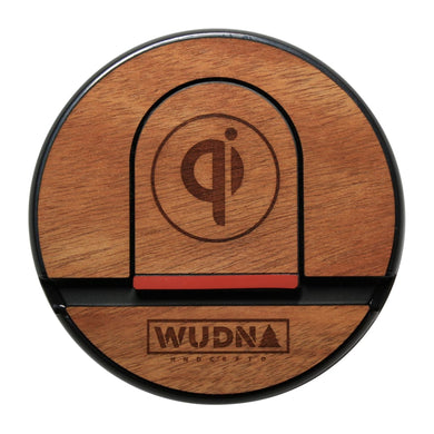 Wooden Qi Wireless Charging Pad Mahogany Product