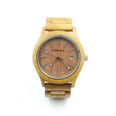 Kylemore - Beige/red (Maple Wood And Sandalwood) Men - Accessories - Watches