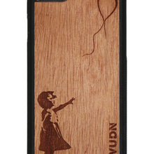 Slim Wooden Phone Case | Banksy Girl With A Balloon Iphone 7 / 8 Product