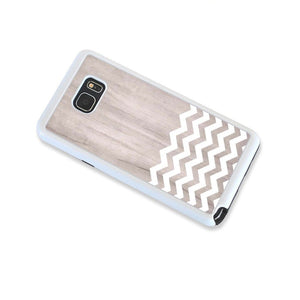 Zig Zag White On Light Wood For Note 5 Home - Electronics