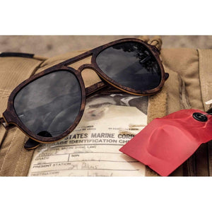 Corsair - Designer Wood Sunglasses Men - Accessories - Sunglasses
