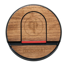 Wooden Qi Wireless Charging Pad Black Walnut Product