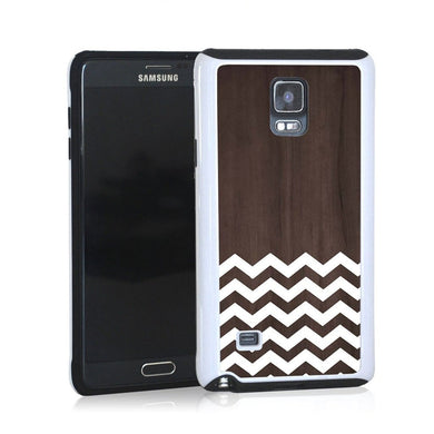 Zig Zag White On Dark Wood For Note 4 Home - Electronics