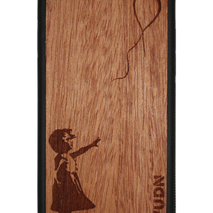 Slim Wooden Phone Case | Banksy Girl With A Balloon Iphone 6 / 6S Product