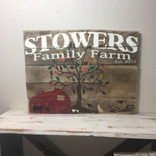 24X18 Custom Barn Wood Sign- Designed Just For You! Last Name Family Gift Sign