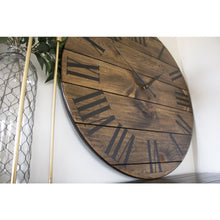 36 Large Wall Clock With Black Numbers