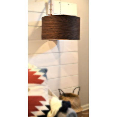Wood Chandelier Drum Shade