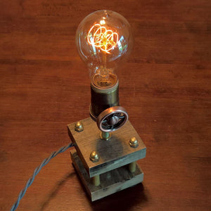 Nostalgic Edison Lamp With Dimmer And Lots Of Brass