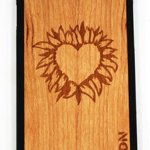 Slim Wooden Phone Case | Fire Heart Iphone 6 / 6S Product