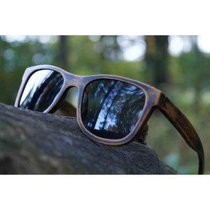 Driftwood Graphite - Bamboo Sunglasses Men - Accessories - Sunglasses