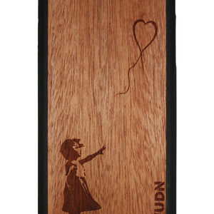 Slim Wooden Phone Case | Banksy Girl With A Balloon Iphone 6 / 6S Plus Product