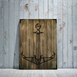Anchor Wooden Wall Art Product