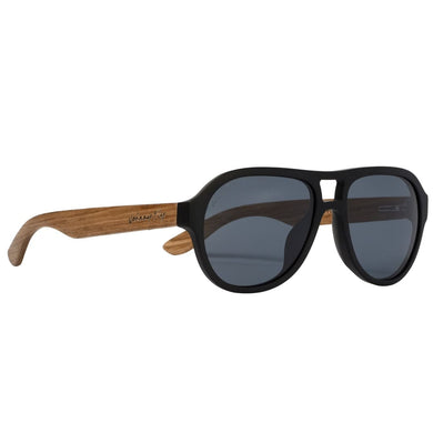 Fighter Zebrawood Sunglasses Men - Accessories -