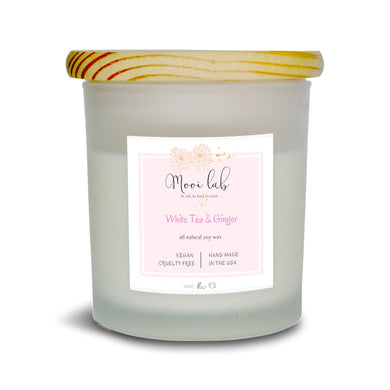 White Tea & Ginger Soy Candle Home - Candles