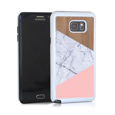 Wood Marble Pink Design For Note 5 Home - Electronics