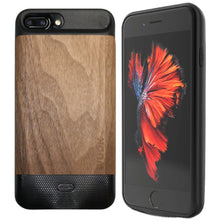 Wudn Flex - Wooden Iphone 6 7 8 Plus Battery Charging Case Black Walnut Product