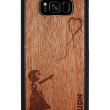 Slim Wooden Phone Case | Banksy Girl With A Balloon Samsung S8 Product