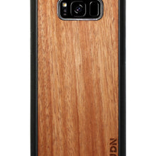 Slim Wooden Samsung Galaxy Case Black S8 Plus / Mahogany Product