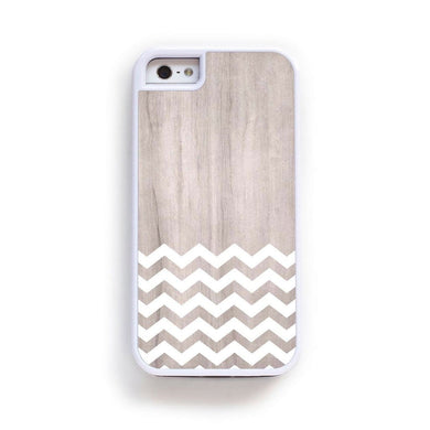 Zig Zag White On Light Wood For Iphone 6 Home - Electronics