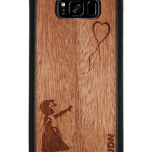 Slim Wooden Phone Case | Banksy Girl With A Balloon Samsung S8 Plus Product