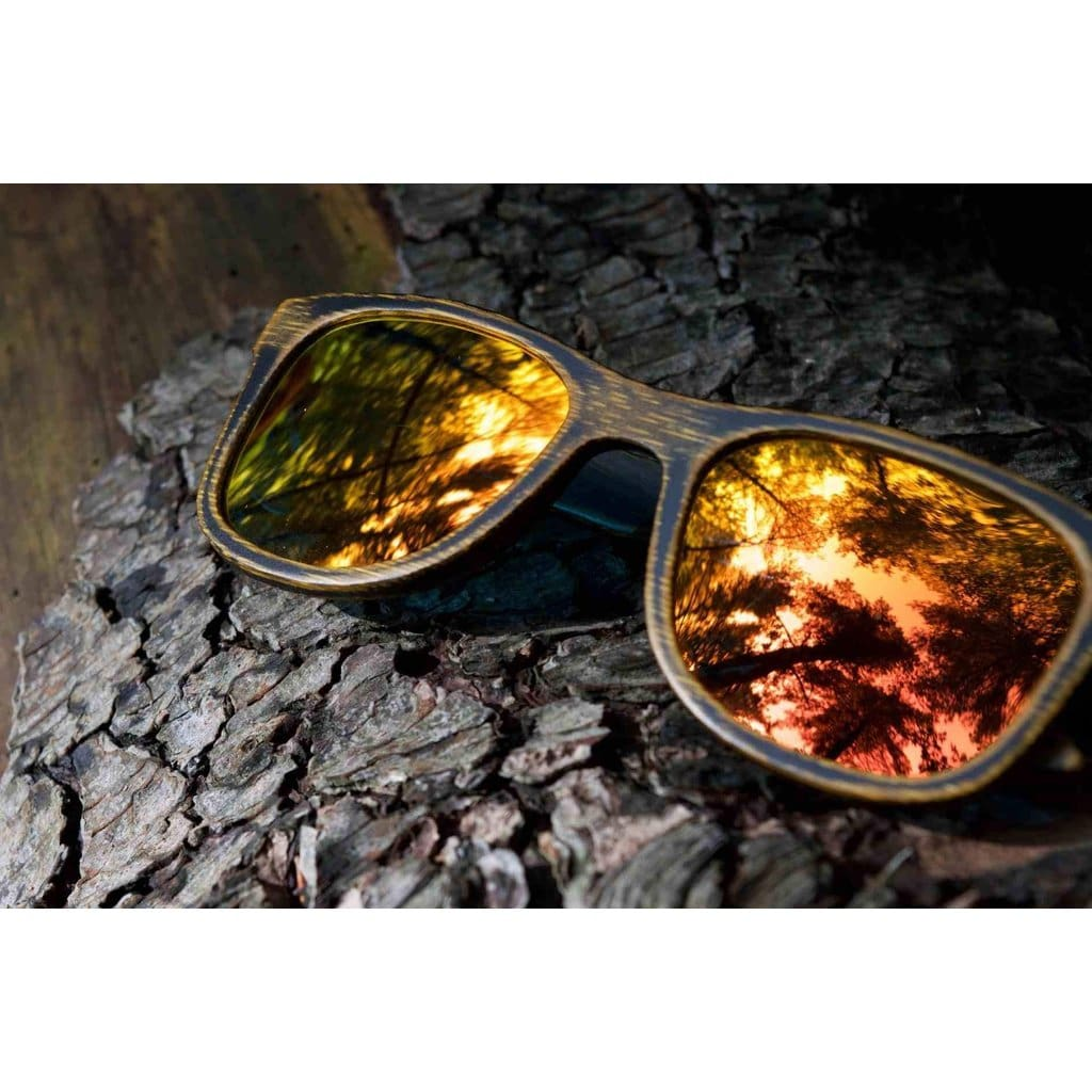 Driftwood Fire - Bamboo Sunglasses Men - Accessories - Sunglasses
