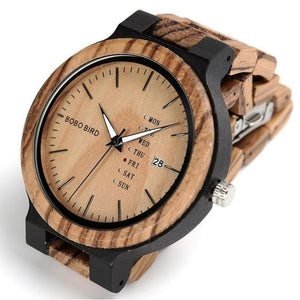 The Graduate - Luxury Wooden Watch Orange / United States Product