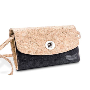 Cork Crossbody Bag With Detachable Shoulder Strap. Women - Accessories - Wallets & Small Goods
