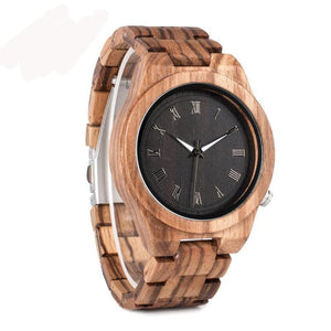 Our Stripes- Wood Watch Product