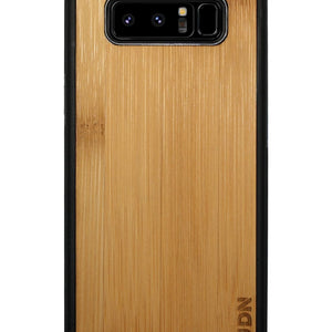 Slim Wooden Samsung Galaxy Case Black Note 8 / Carmalized Bamboo Product
