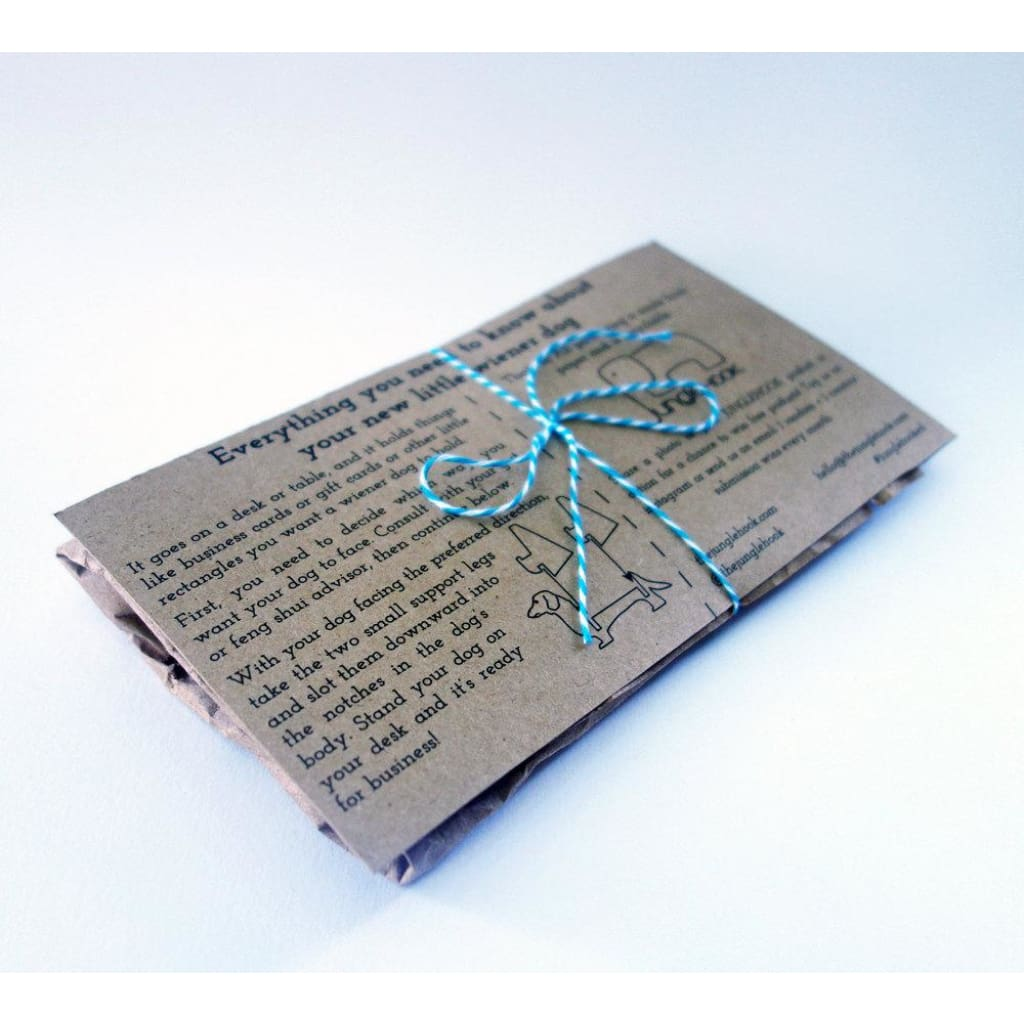 Wood Temple Llc All Rights Reserved - Dachshund Business Card Holder ...