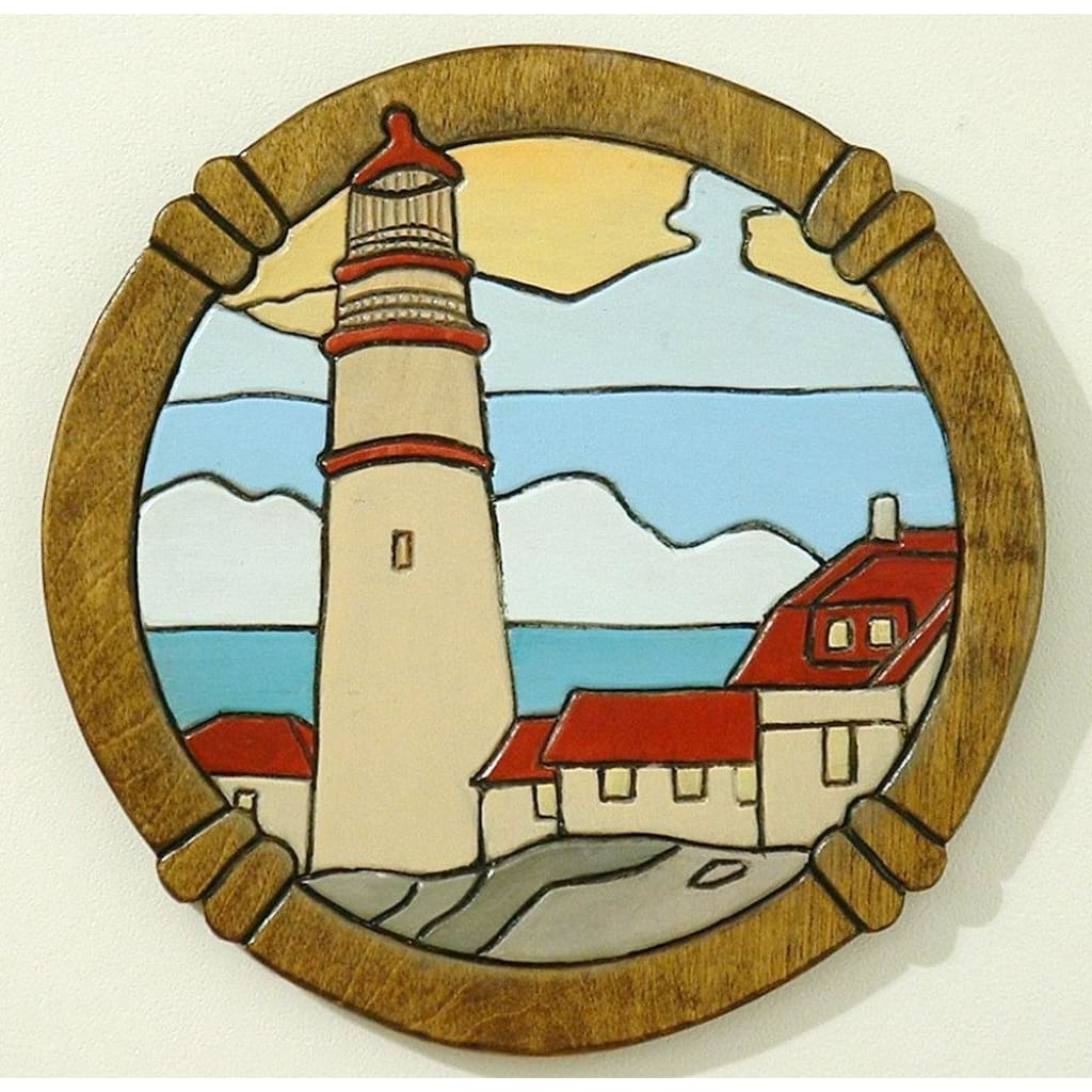 Wood Temple Llc All Rights Reserved - Wood Sculpture Lighthouse Wall ...