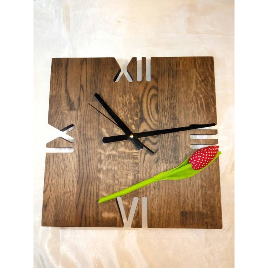 Wood Temple Llc All Rights Reserved Wood Wall Clock Unique Wood
